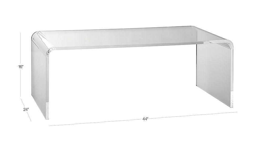 Peekaboo Acrylic Tall Coffee Table | Pinterest | Sunroom Inside Peekaboo Acrylic Tall Coffee Tables (Image 21 of 40)