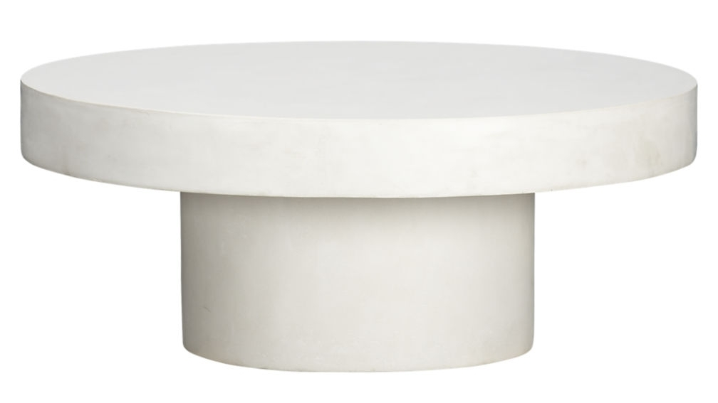Perfect Round White Coffee Table Shroom Coffee Table Cb2 With Shroom Large Coffee Tables (View 3 of 40)