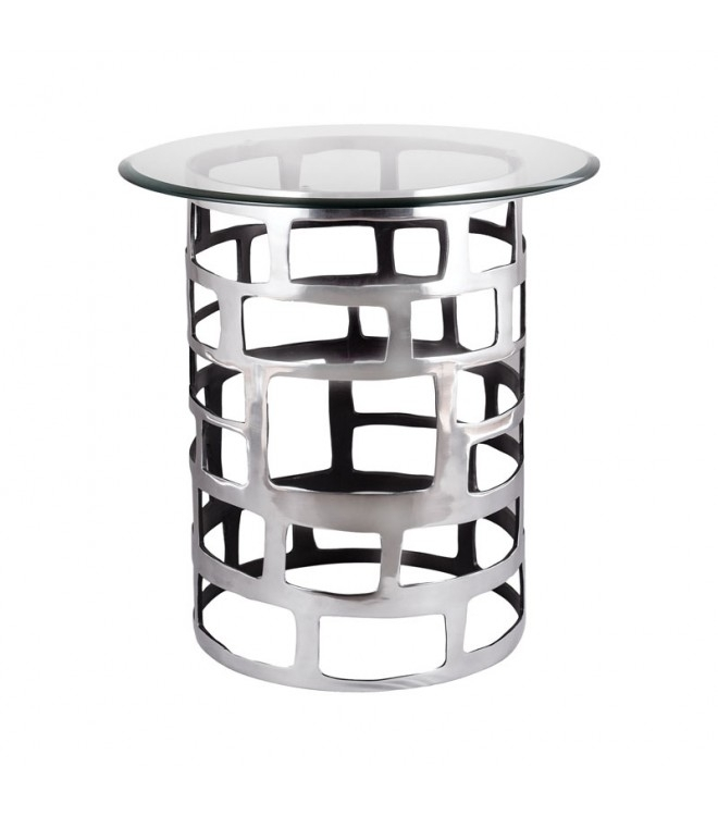 Perfect Silver Accent Table And Side Tables Silver Pedestal Side Intended For Fresh Cut Side Tables (Photo 32 of 40)