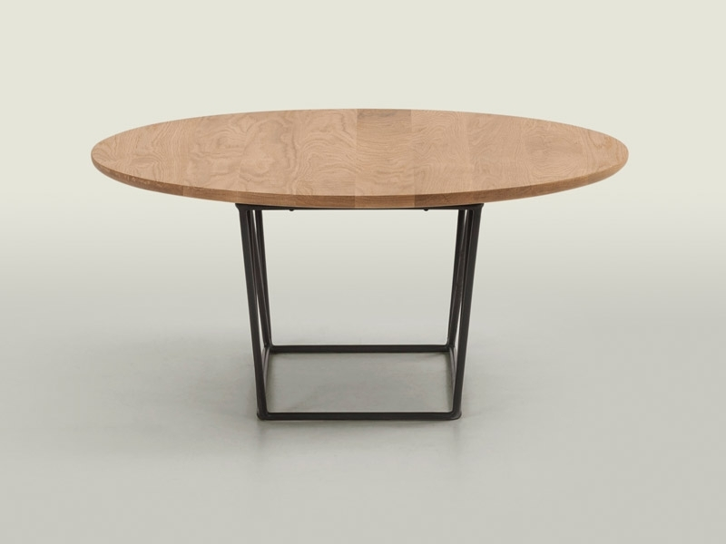 Pma Furniture & Design | Wire Coffee Table Oak Throughout Swell Round Coffee Tables (Image 23 of 40)