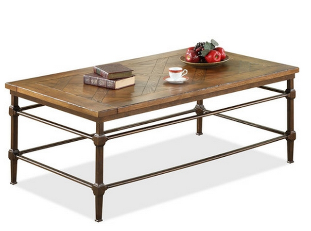 Pottery Barn Parquet Coffee Table – Copycatchic With Regard To Parquet Coffee Tables (Image 32 of 40)