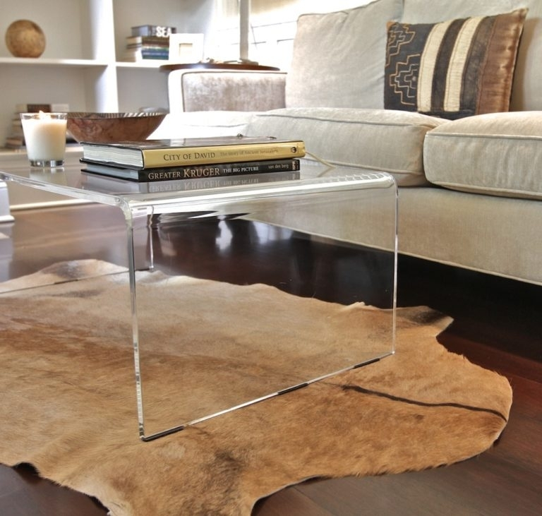 Preview Medium Large: Amazing Of Acrylic Coffee Tables With Lucite Throughout Modern Acrylic Coffee Tables (View 20 of 40)