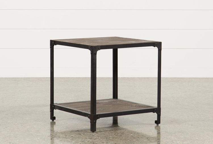 Proton End Table For Blanton Round Cocktail Tables (View 13 of 40)