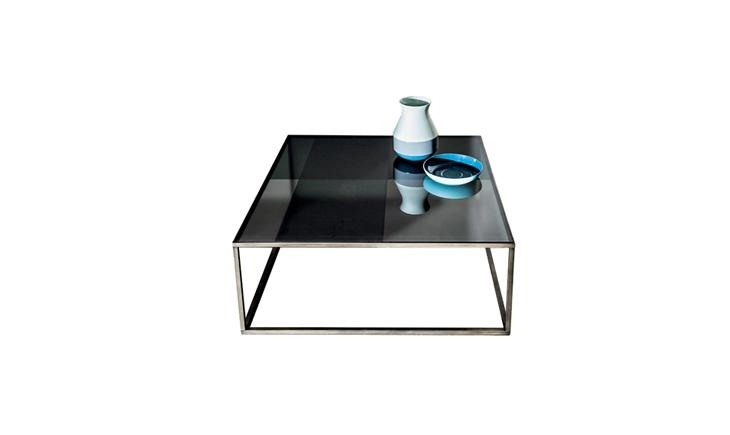 Quadro | Small Glass Coffee Table | Sovet Pertaining To Rectangular Brass Finish And Glass Coffee Tables (View 27 of 40)
