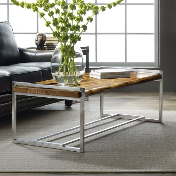 Raw Edge Coffee Table | Wayfair In Chiseled Edge Coffee Tables (View 23 of 40)
