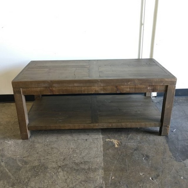 Reclaimed Pine Coffee Table – Nadeau Austin With Regard To Reclaimed Pine Coffee Tables (View 36 of 40)