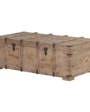 Reclaimed Pine Coffee Table  Trunk – Mulberry Moon Within Reclaimed Pine Coffee Tables (Image 26 of 40)