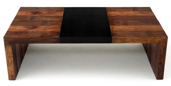 Reclaimed Wood Coffee Table, Urban Rustic Coffee Table Within Modern Rustic Coffee Tables (Image 27 of 40)