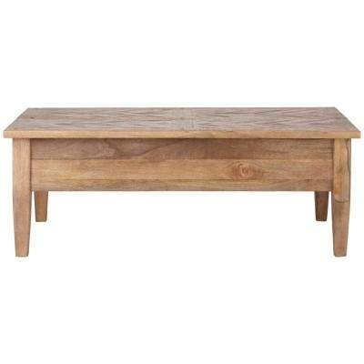 Rectangle – Coffee Table – Farmhouse – Coffee Tables – Accent Tables Pertaining To Tahoe Ii Cocktail Tables (Image 22 of 40)