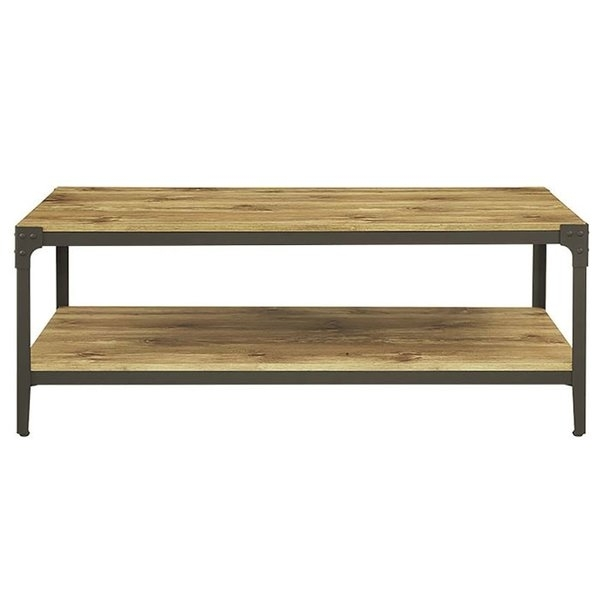 Rectangle Coffee Tables You'll Love | Wayfair For Element Ivory Rectangular Coffee Tables (Image 31 of 40)