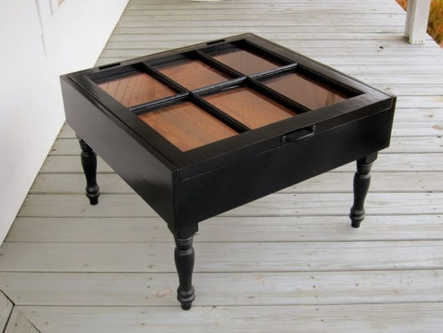 Rectangle Top Shadow Box Coffee Table | Tuckr Box Decors : Build With Regard To Rectangular Barbox Coffee Tables (Image 22 of 40)