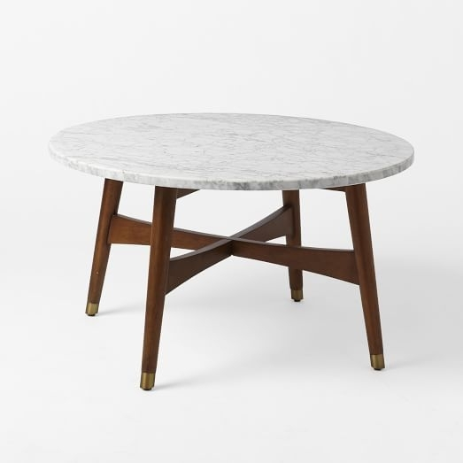 Reeve Mid Century Coffee Table – Marble | Mid Century Coffee Table With Regard To Mid Century Modern Marble Coffee Tables (Image 33 of 40)