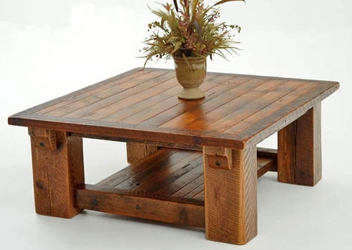 Refined Rustic Coffee Table Design #1 – Urdezign Lugar Inside Modern Rustic Coffee Tables (View 15 of 40)