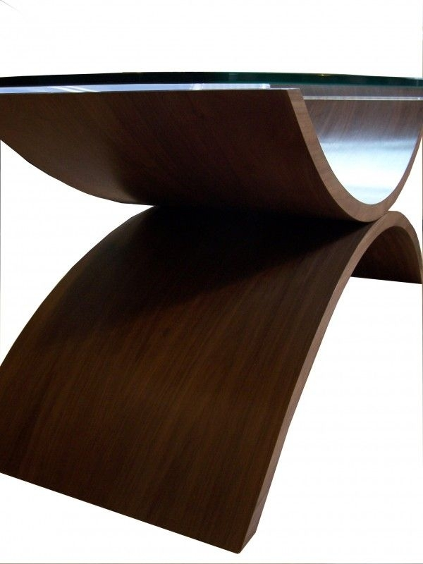 Reflections (Large) Coffee Table | Large Coffee Tables, Coffee And Regarding Contemporary Curves Coffee Tables (View 6 of 40)