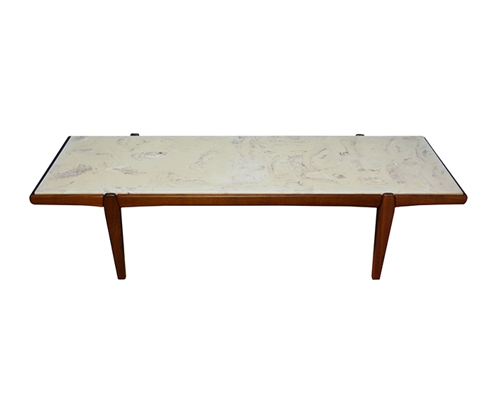 Remarkable Danish Modern Coffee Table Mid Century Modern Marble Top In Mid Century Modern Marble Coffee Tables (Image 34 of 40)