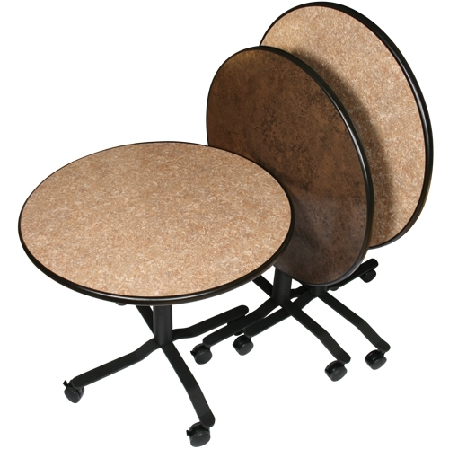 Rollers Portable Cocktail Tables | Palmer Snyder Intended For Palmer Storage Cocktail Tables (Image 27 of 40)