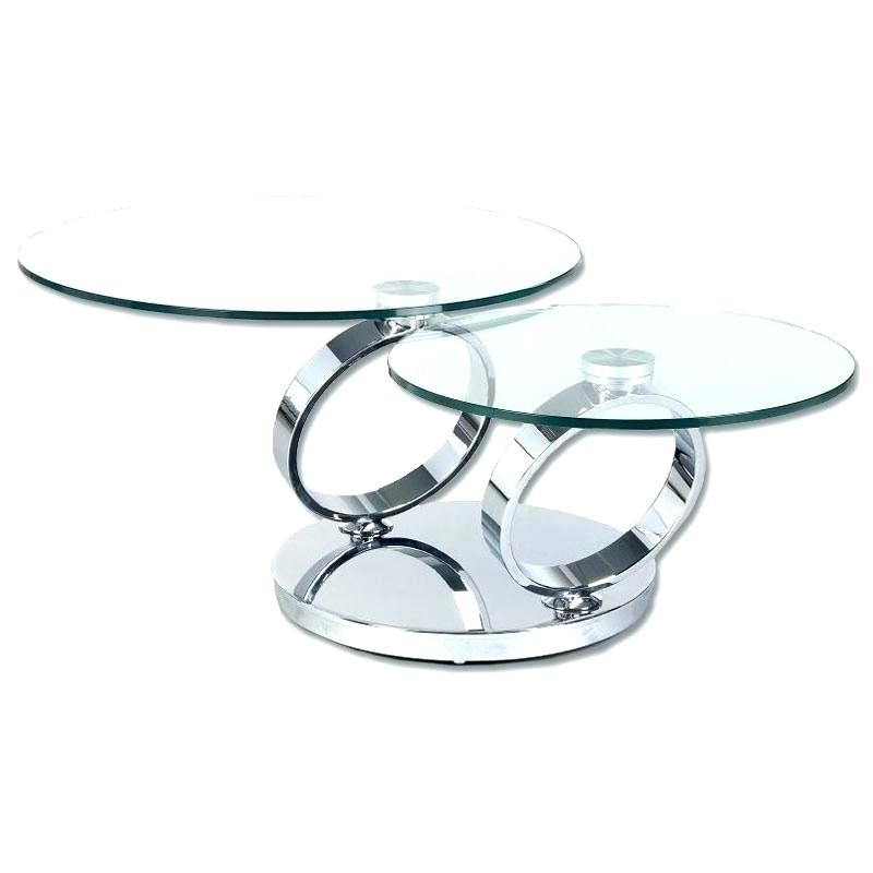 Rotating Glass Coffee Table Revolving Glass Coffee Table Coffee With Regard To Spin Rotating Coffee Tables (Image 25 of 40)