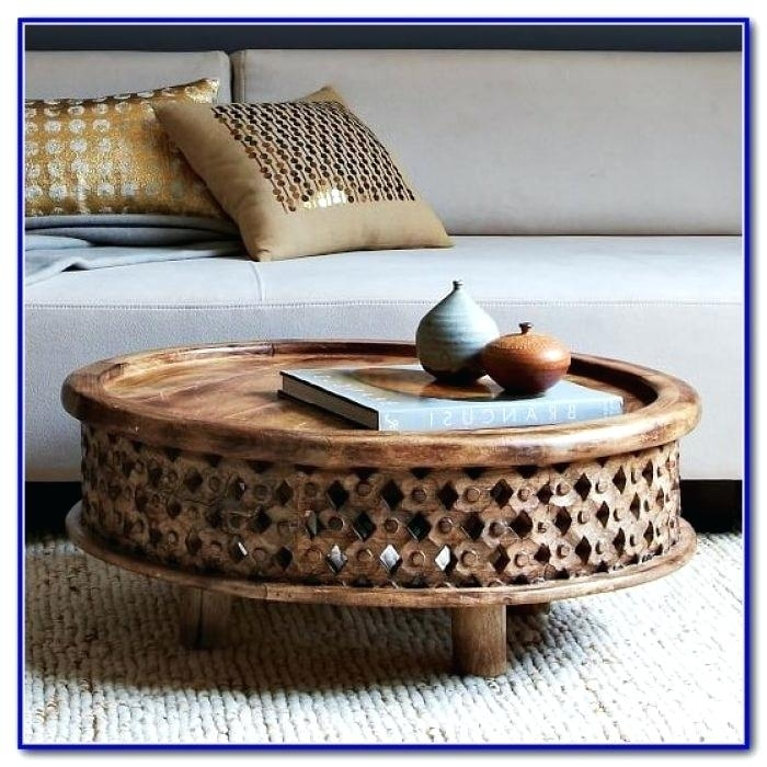 Round Carved Wood Coffee Table Carved Wood Coffee Table Carved Wood Throughout Round Carved Wood Coffee Tables (Image 28 of 40)