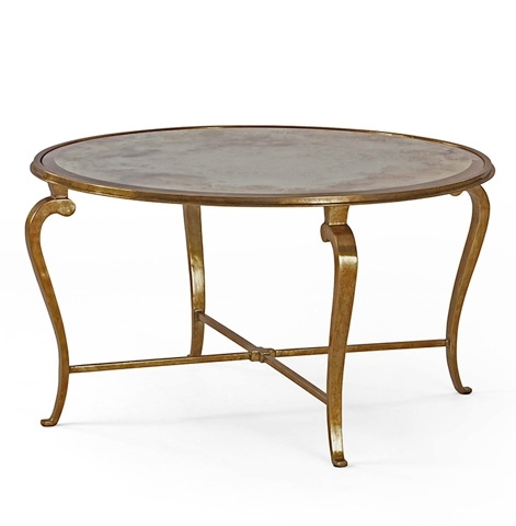 Round Cocktail Table | Sf5002 | Century Furniture Occasional Tables Throughout Exton Cocktail Tables (Photo 6 of 40)