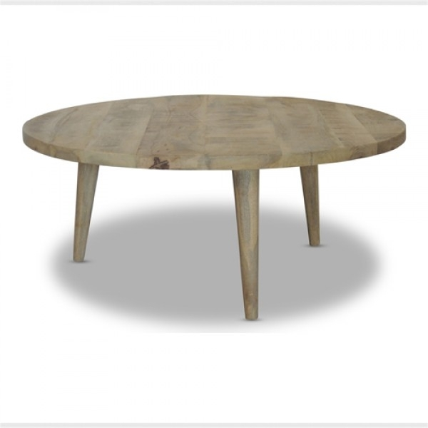 Round Coffee Table | Modern Rustic Furniture | Loft For Modern Rustic Coffee Tables (Image 29 of 40)