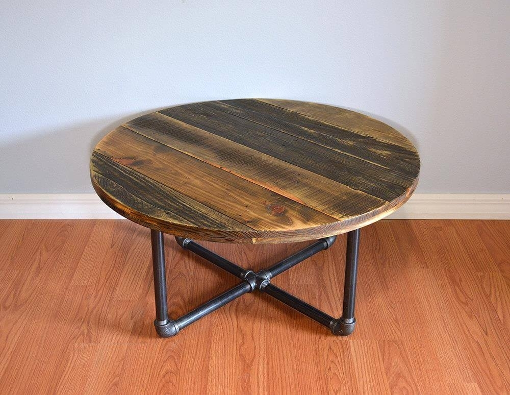 Round Coffee Table Pallet — New Home Design : Round Coffee Table Throughout Swell Round Coffee Tables (Image 28 of 40)