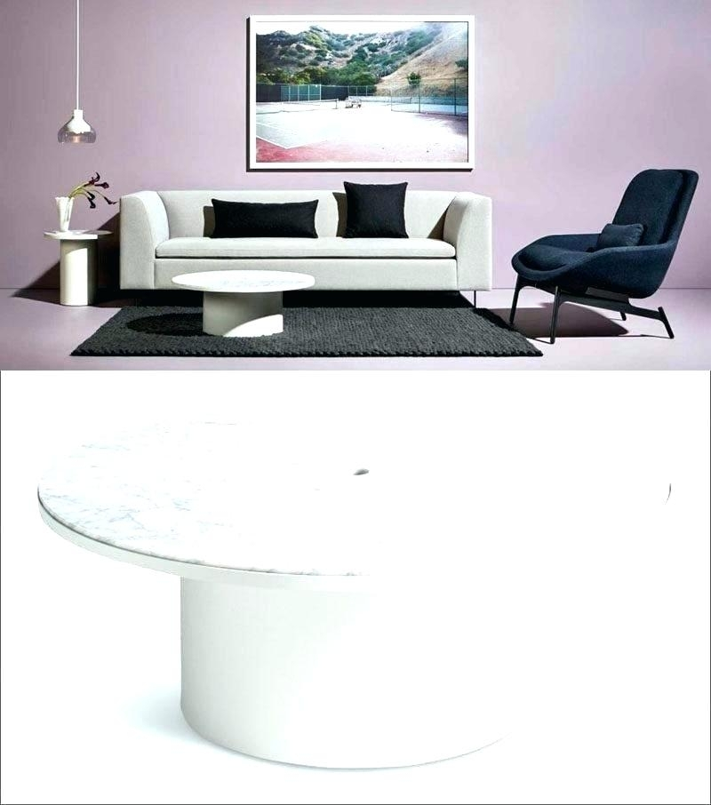 Round Marble Coffee Table – Save The Ideas For Suspend Ii Marble And Wood Coffee Tables (Image 26 of 40)