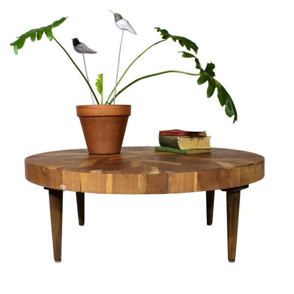 Round Parquet Coffee Table – Recreate Inside Parquet Coffee Tables (Image 36 of 40)