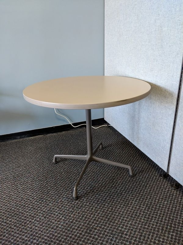"Round Table 35"" (Business Equipment) In Greenville, Sc – Offerup Within Torrin Round Cocktail Tables (View 24 of 40)"