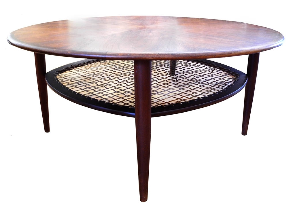 Round Teak Coffee Table – Inabstracto Throughout Round Teak Coffee Tables (Image 22 of 40)