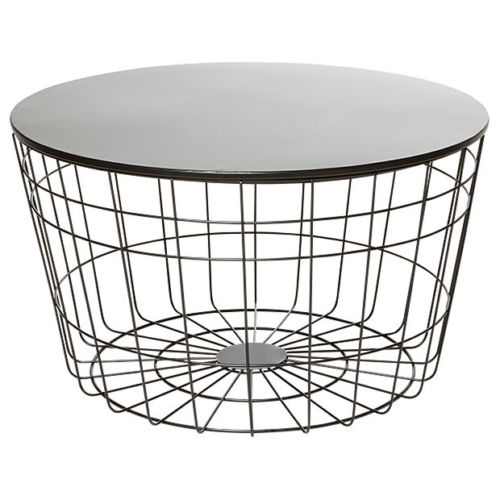 Round Wire Coffee Table – Event Avenue With Regard To Black Wire Coffee Tables (Image 27 of 40)