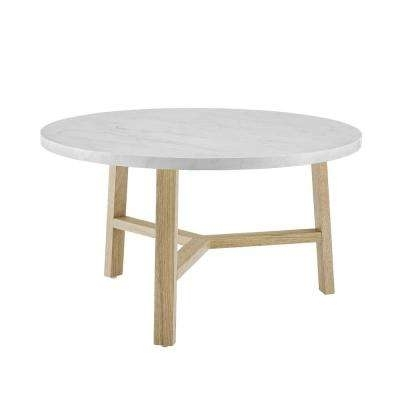 Round – Wood – Mid Century Modern – Coffee Tables – Accent Tables Within Mid Century Modern Marble Coffee Tables (Image 35 of 40)
