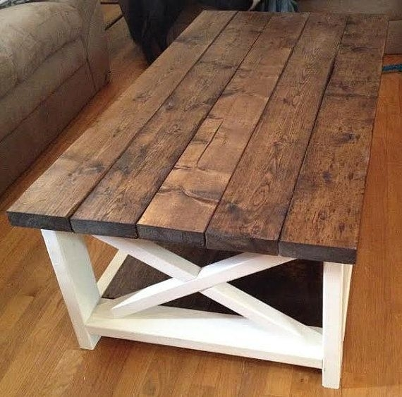 Rustic Coffee Table Intended For Our Sweetheart Is A Beautiful In Modern Rustic Coffee Tables (Image 31 of 40)