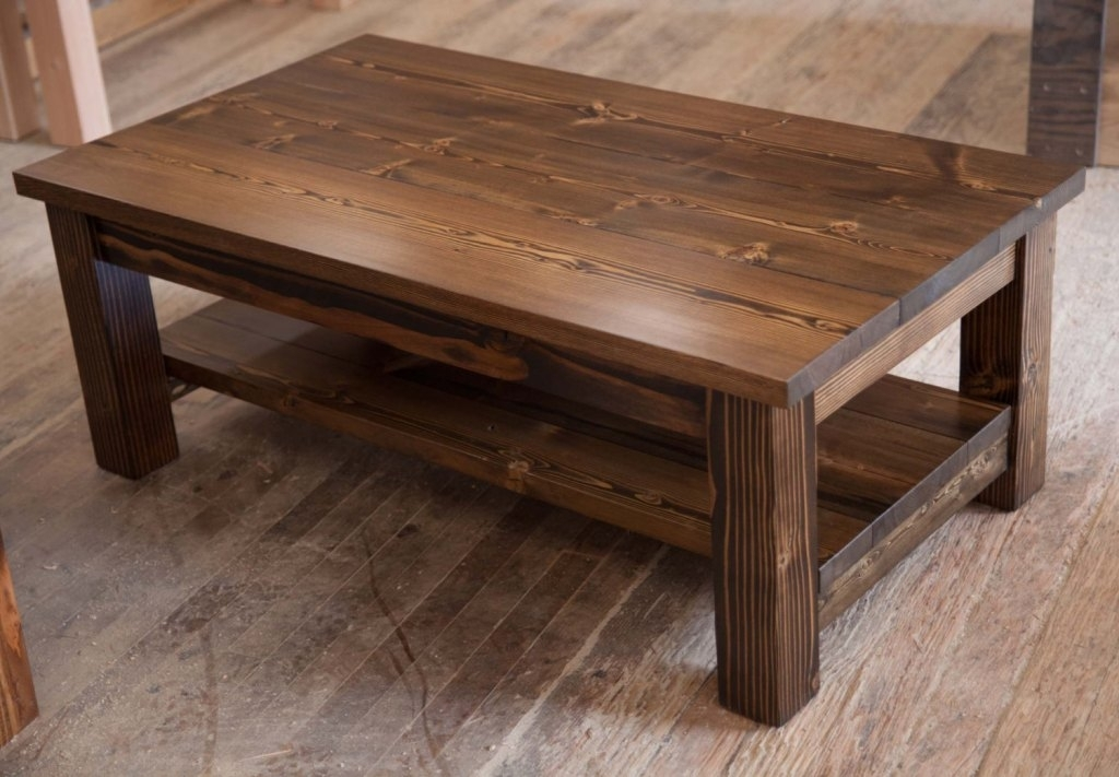 Rustic Coffee Tables – Centralazdining For Modern Rustic Coffee Tables (Image 32 of 40)
