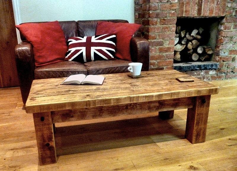 Rustic Traditional Coffee Table | Ben Simpson Furniture Inside Traditional Coffee Tables (View 29 of 40)