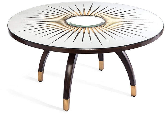 Santa Fe Coffee Table – Jupiter Walnut #gilded#capped#legs Inside Santa Fe Coffee Tables (Image 8 of 40)