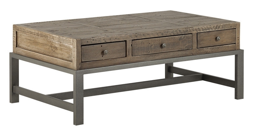 Santa Fe Coffee Table – Rustic Taupe | Santa Fe | Collections | Lh With Regard To Santa Fe Coffee Tables (View 6 of 40)