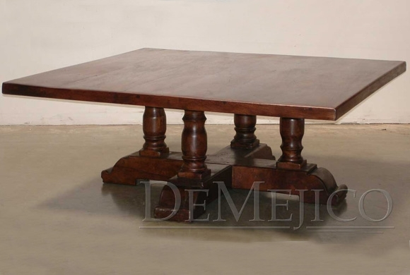 Santa Fe Old World Coffee Table – Demejico With Santa Fe Coffee Tables (Image 20 of 40)