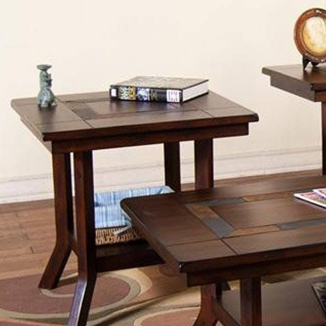 Sante Fe End Table – Bernie & Phyl's Furniture  Sunny Designs Inside Santa Fe Coffee Tables (View 39 of 40)