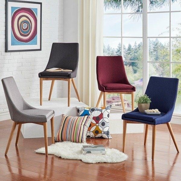 Sasha Oak Barrel Back Dining Chairmid Century Living (Set Of 2 For Moraga Barrel Coffee Tables (View 21 of 40)