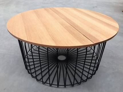 Scandinavian Industrial Wire Coffee Table – Ex Display | Coffee Pertaining To Black Wire Coffee Tables (View 10 of 40)