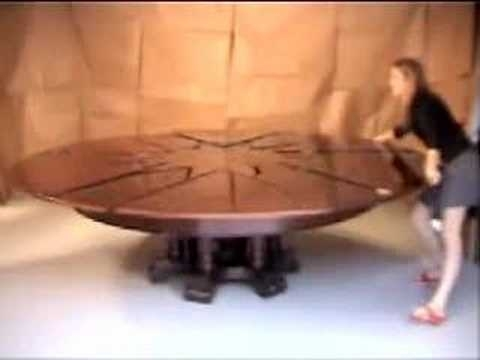 Schwartz Table – Youtube Throughout Spin Rotating Coffee Tables (Image 28 of 40)