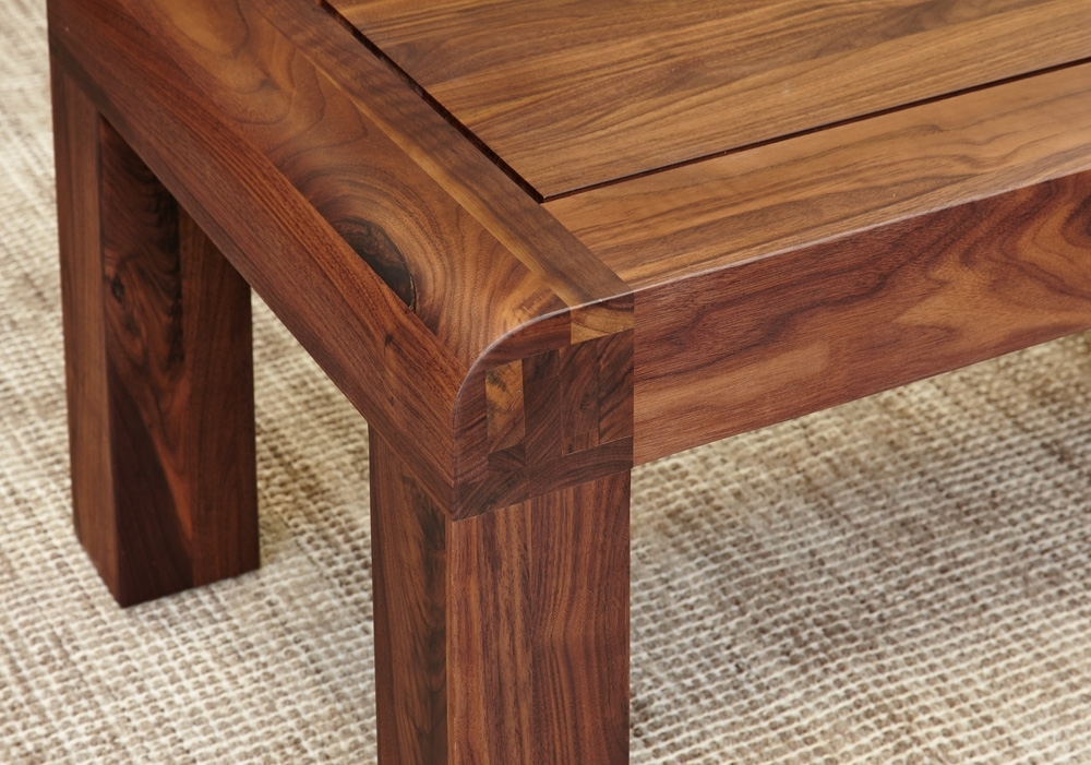 Shiro Walnut Medium Open Coffee Table – When In Home – Home & Garden Pertaining To Walnut 4 Drawer Coffee Tables (View 30 of 40)