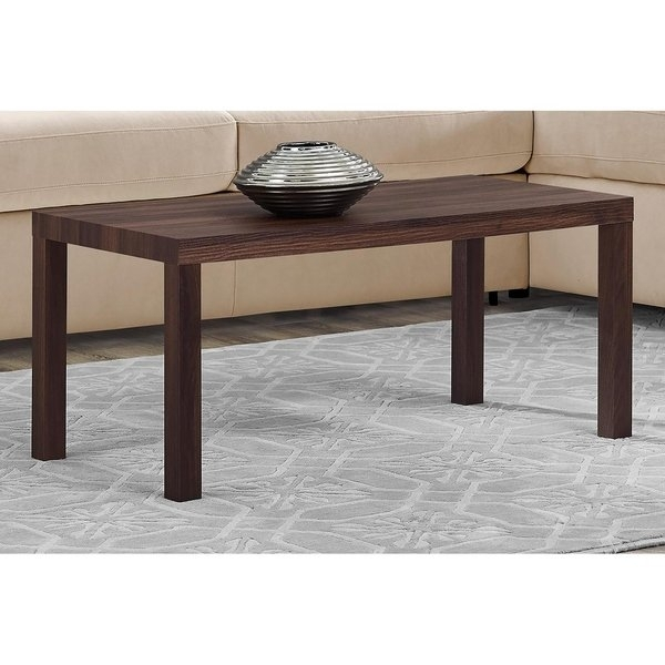 Shop Avenue Greene Jaxon Walnut Coffee Table – Free Shipping Today Intended For Jaxon Cocktail Tables (View 5 of 40)