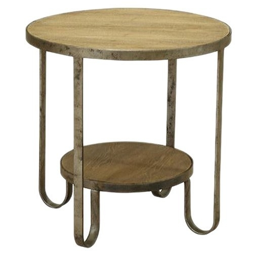 Shop Barstow End Table With Gunmetal Frame – Free Shipping Today Regarding Gunmetal Coffee Tables (Image 33 of 40)