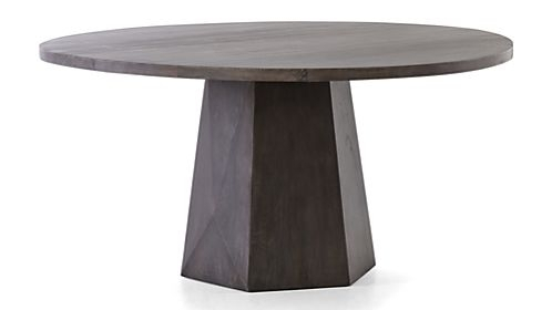 Shop Dining Room & Kitchen Tables | Crate And Barrel Throughout Flat Black And Cobre Coffee Tables (Image 36 of 40)
