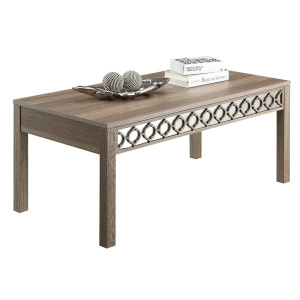 Shop Helena Sun Bleached Oak Coffee Table – Free Shipping Today In Lassen Square Lift Top Cocktail Tables (View 3 of 40)