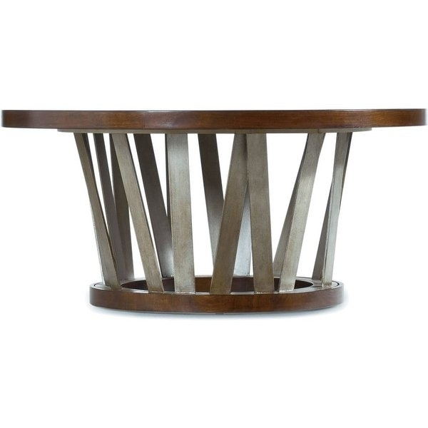 Shop Hooker Furniture 5065 80111 42 Inch Diameter Hardwood Coffee Throughout Waxed Metal Coffee Tables (Image 31 of 40)