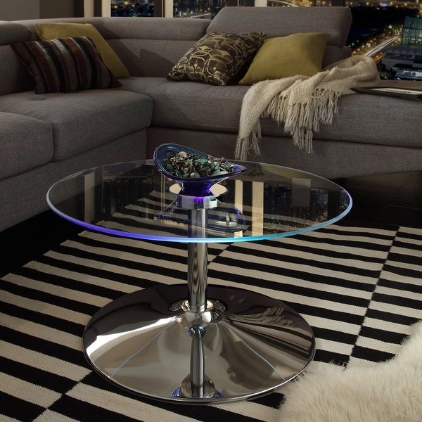 Shop Lorin Cocktail Table Modern Led Accent Table Inspire Q Modern For Anson Cocktail Tables (View 14 of 40)
