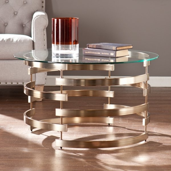 Shop Silver Orchid Grant Cocktail/ Coffee Table – Free Shipping Pertaining To Candice Ii Storage Cocktail Tables (View 28 of 40)
