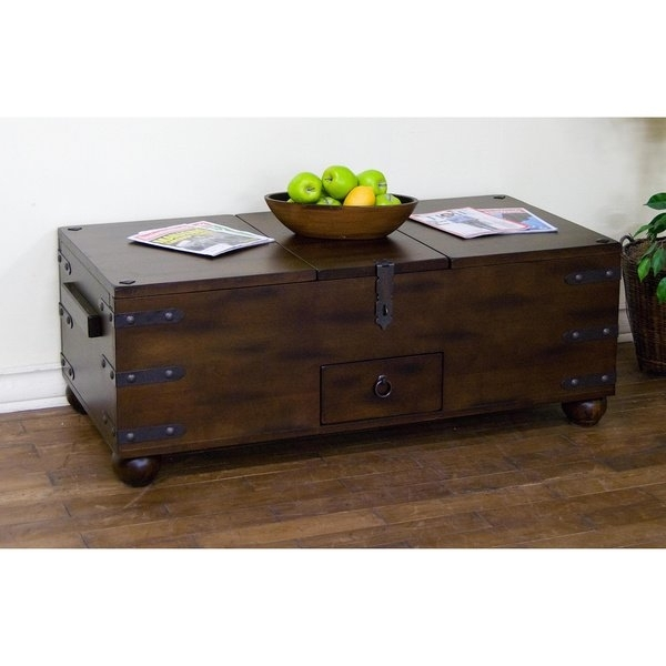 Shop Sunny Designs Santa Fe Trunk Coffee Table – Free Shipping Today Intended For Santa Fe Coffee Tables (View 4 of 40)